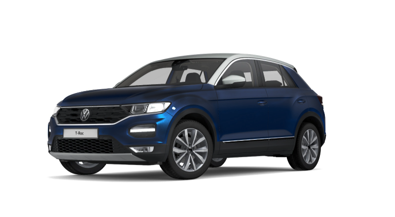 t-roc atlantic blu