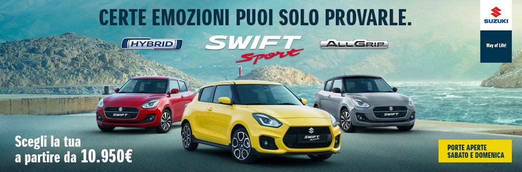 Nuova Suzuki Swift: Emozionati