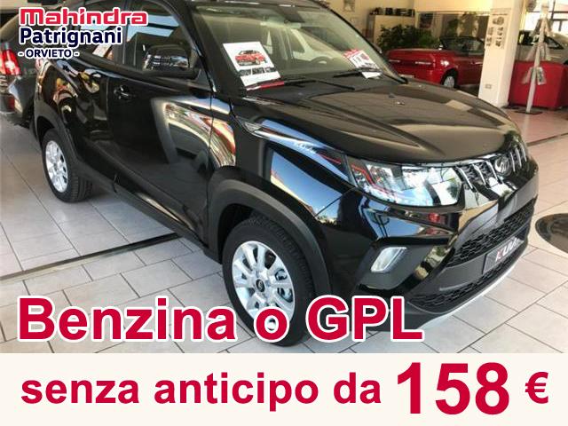 Mahindra Senza Anticipo da 158 €/m