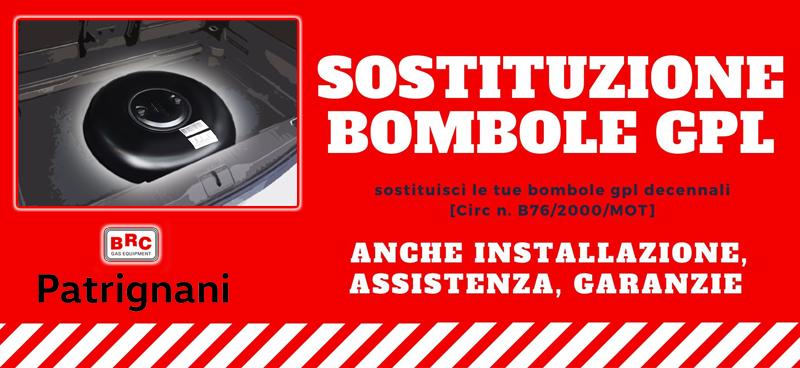 Patrignani sostituzione bombole GPL Orvieto